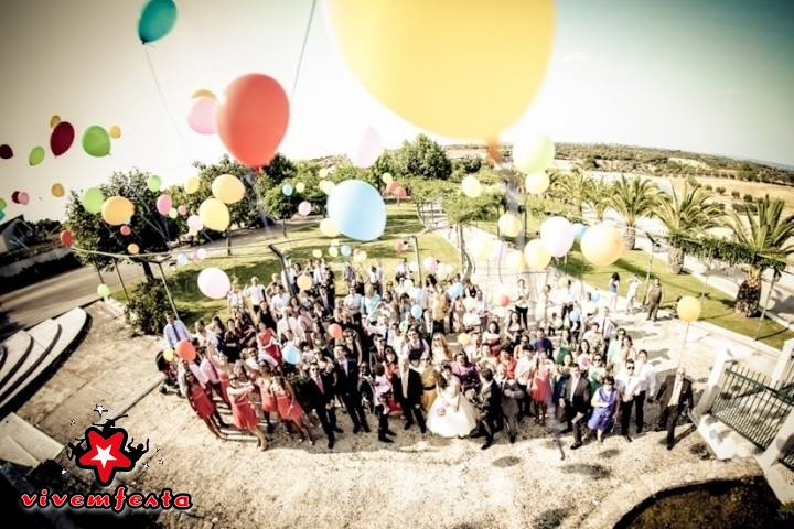 Largada de Balões VivEmFesta