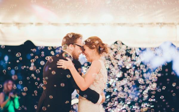 Bolas de Sabão no seu Casamento
