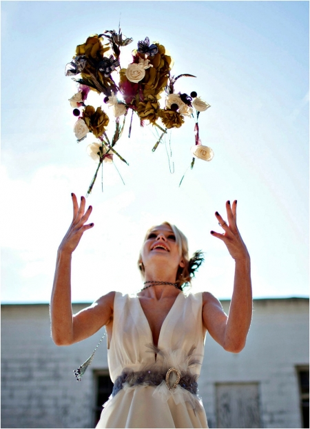 Ideias para atirar o ramo da Noiva