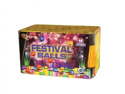 Bateria 48 Disparos Festival Balls