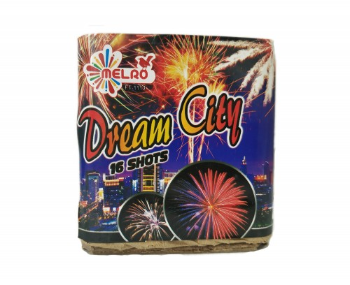 Bateria 16 Disparos Dream City