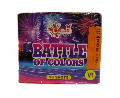 Bateria 36 Disparos Battle of Colors V1
